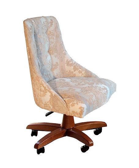 Cadeira alta com rodízio