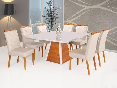 Mesa de jantar 150X150m