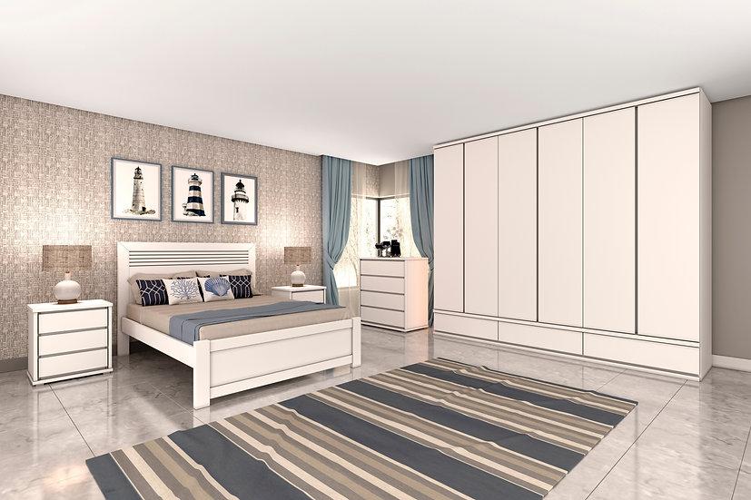 Dormitório Completo Branco