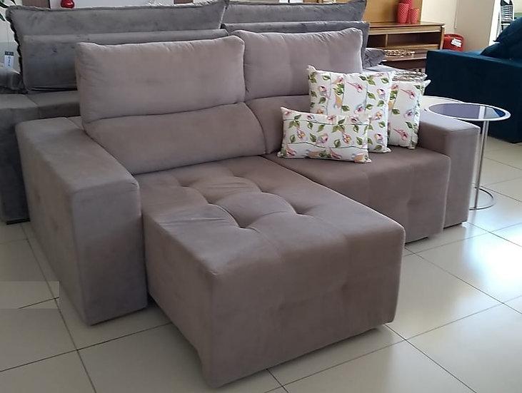 39-Sofá assento mola   - 10xR$ 249,00