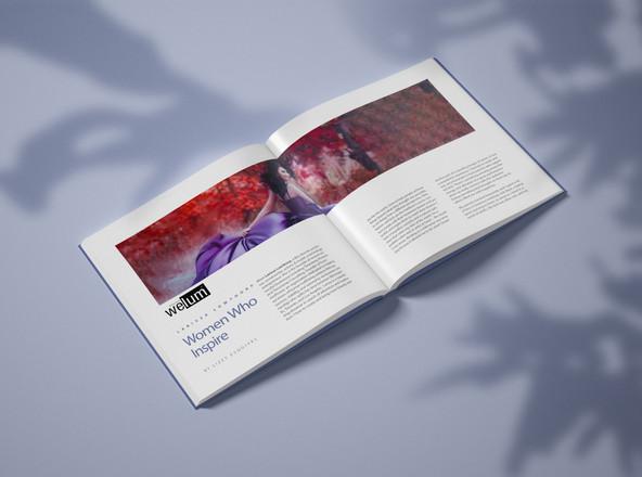 Welum Magazine Names Larissa Lowthorp among Welum Magazine's Women Who Inspire.