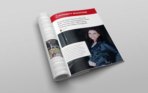 Authority Magazine names Larissa Lowthorp a Social Imact Hero