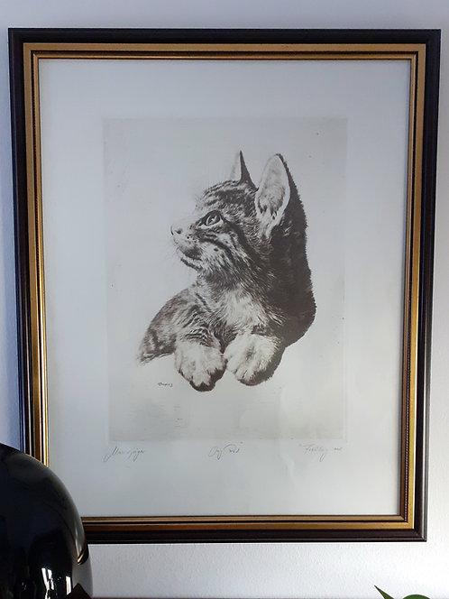 """HO42 Zeichnung """"Mäusejäger"""""""