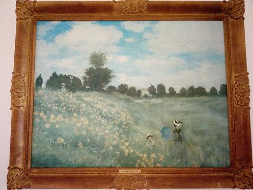 B43 - Claude Monet - Das Mohnfeld bei Argenteuil