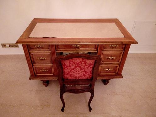 A114 - Sekretär - Schreibtisch Biedermeier