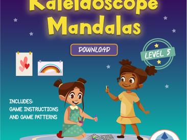 Level 5 - Kaleidoscope Mandala Coloring