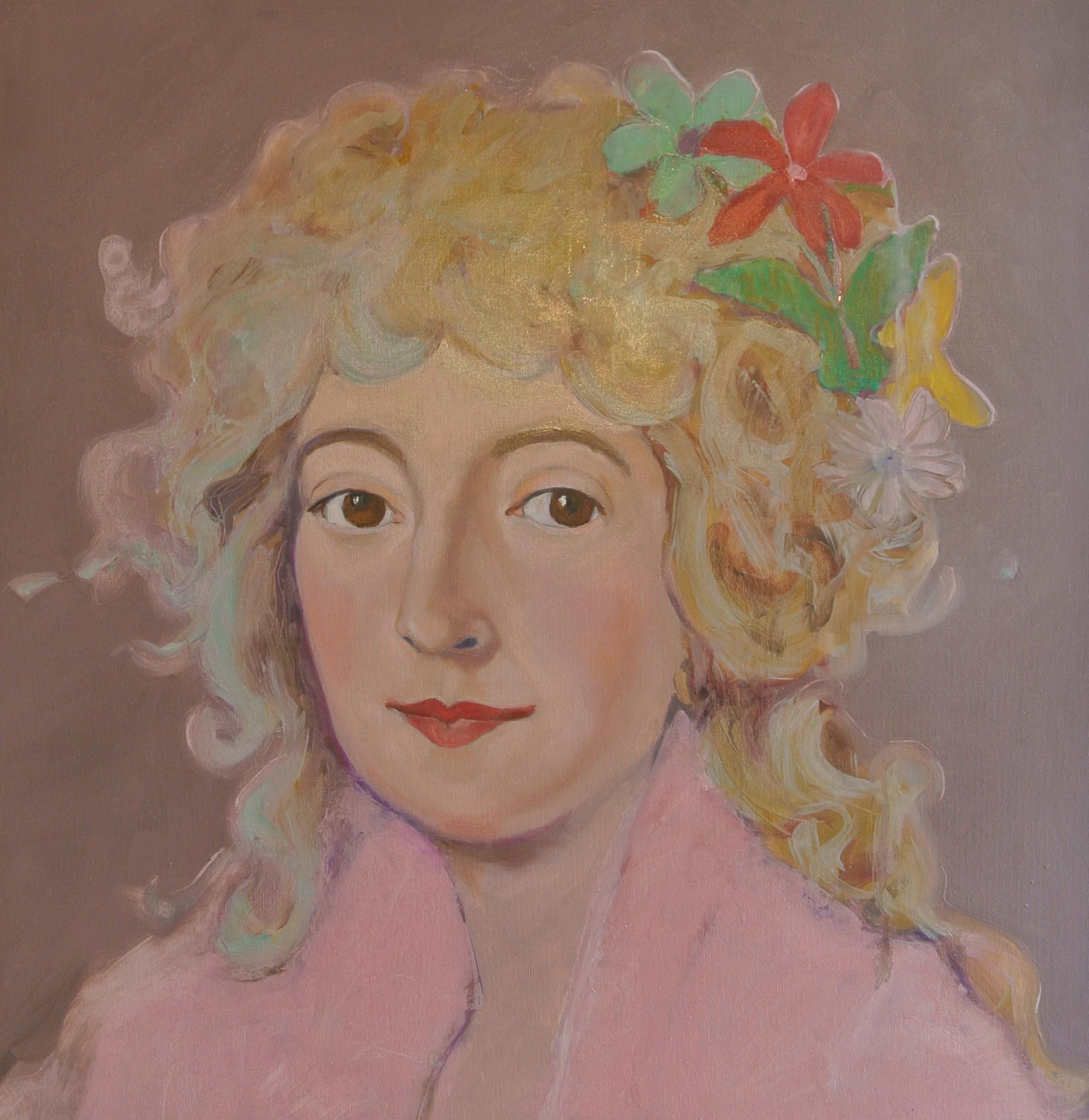 Portret Keetje Hodshon