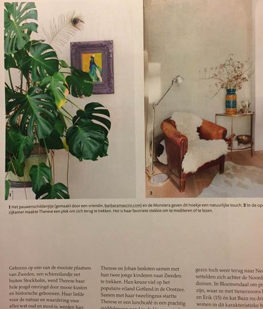 schilderij 'Trots als een Pauw'