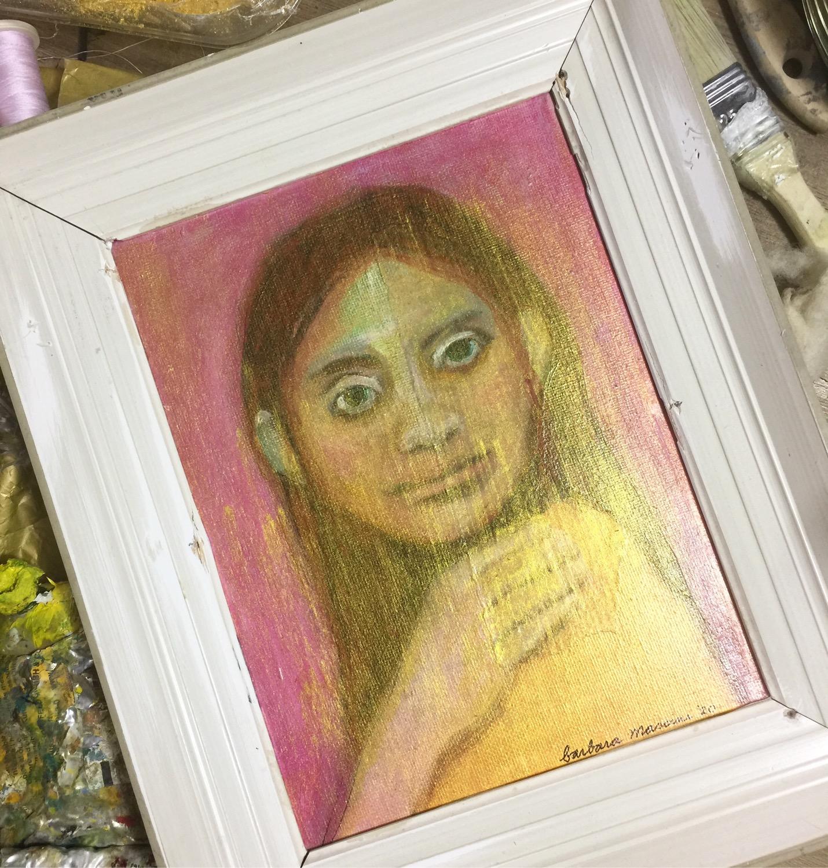 portretje in lijst