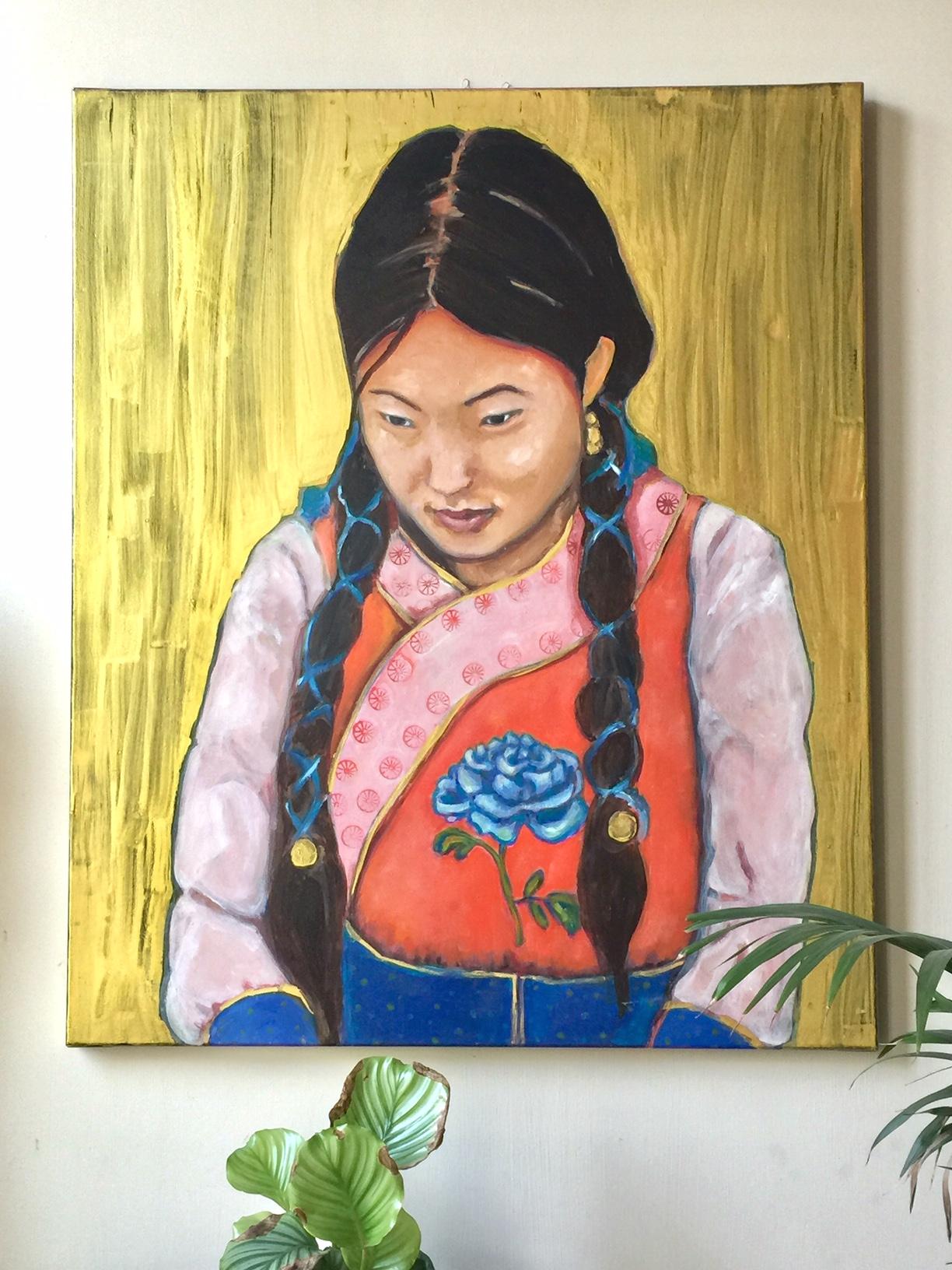 Mongools meisje