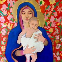 Moeder Maria en Jezus