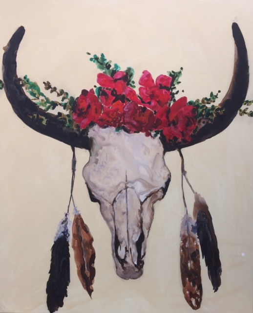 Bizon Skull