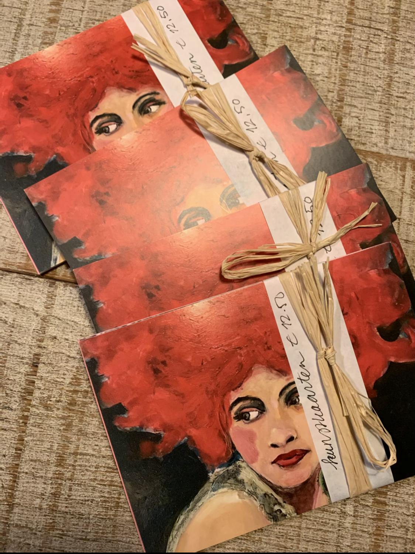 Kunstkaarten set