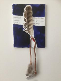 Buzzerd Feather Verkocht