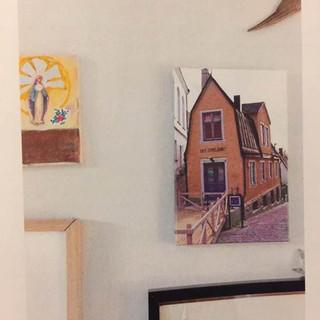 links zie je het Maria schilderijtje