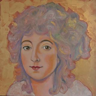 portret van Keetje Hodson hangt nu in het Hodson Huis aan het Spaarne in Haarlem
