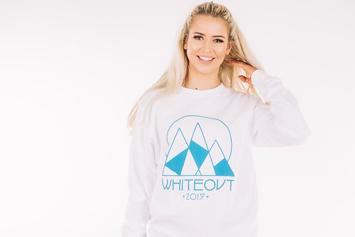 Whiteout Jumper Front View Girl
