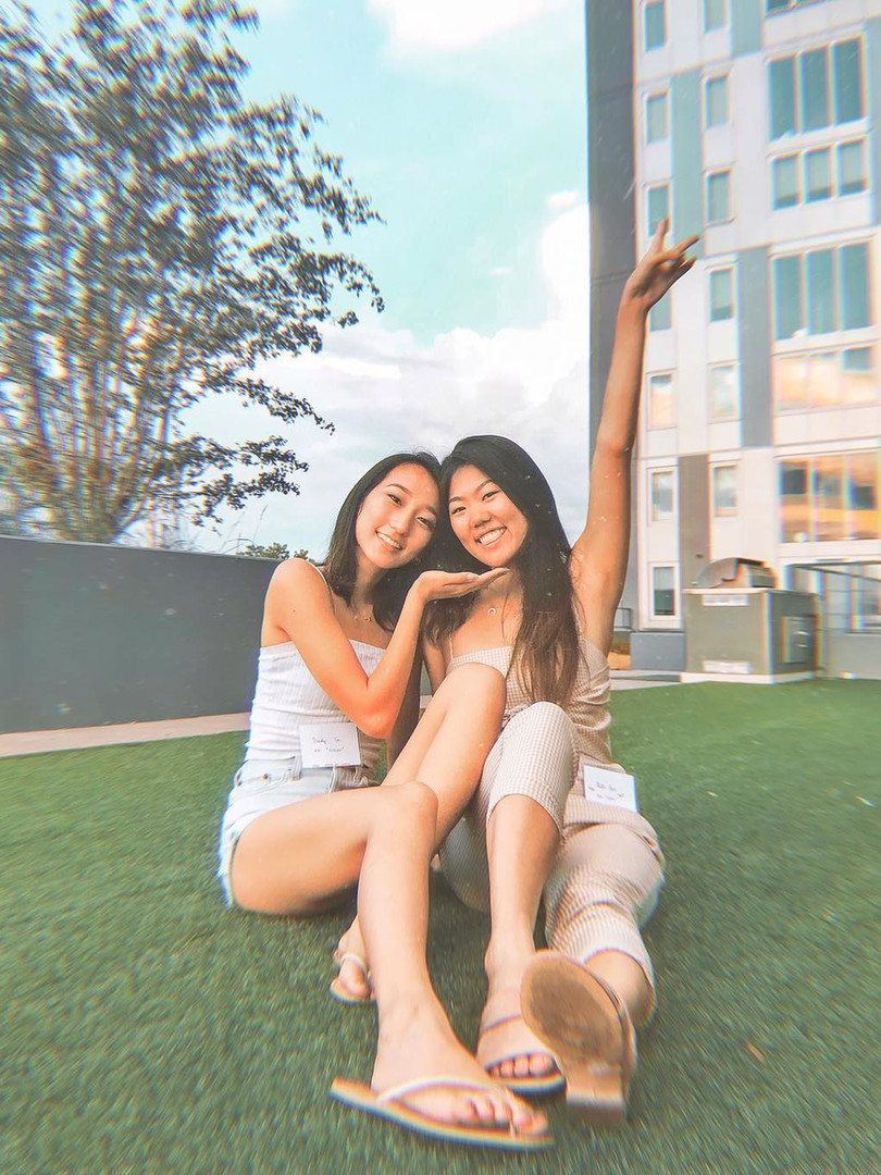 FALL 2018 S'MORES RUSH EVENT: Sandy You and Katie Liu