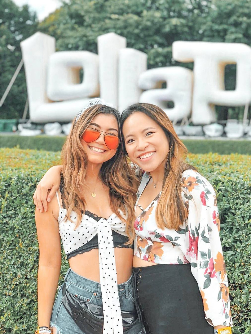 LITTLE & BIG: Crystal Hall and Caryn Moy at Lollapalooza
