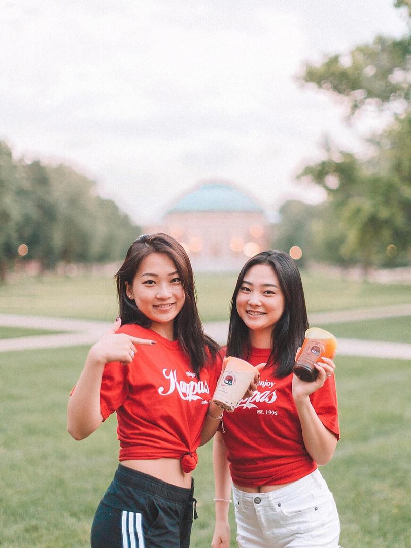 FALL 2019 RUSH ENJOY KAPPAS: Alumna Ann Wang and her little, Esther Lee