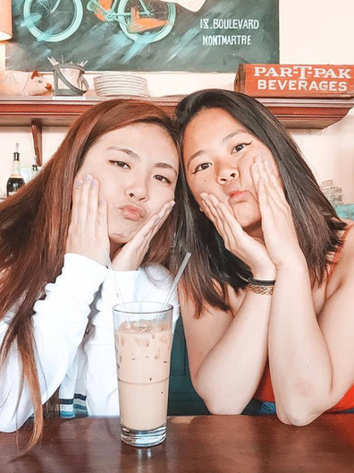 PHI CLASS: Rebecca Chan and Anastasia Wong