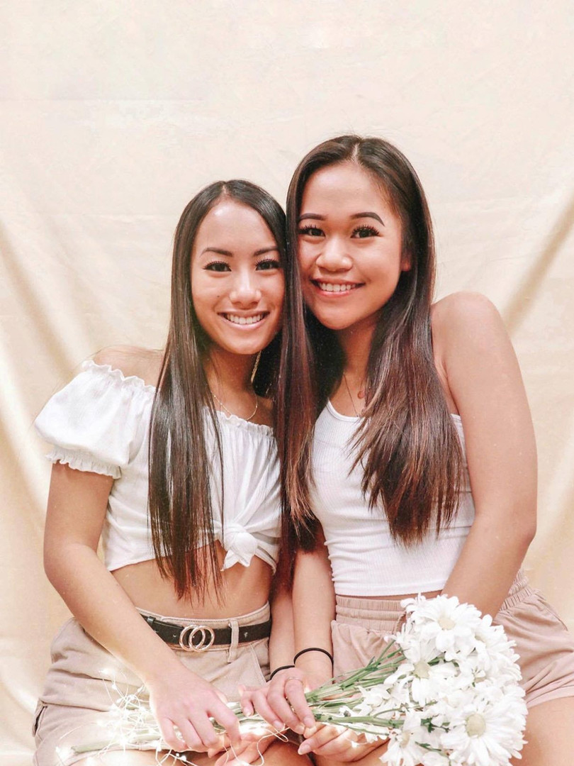 SPRING RUSH '20 SWEETER THAN HONEY: Twins Tiffany Nguyen and Vy Truong