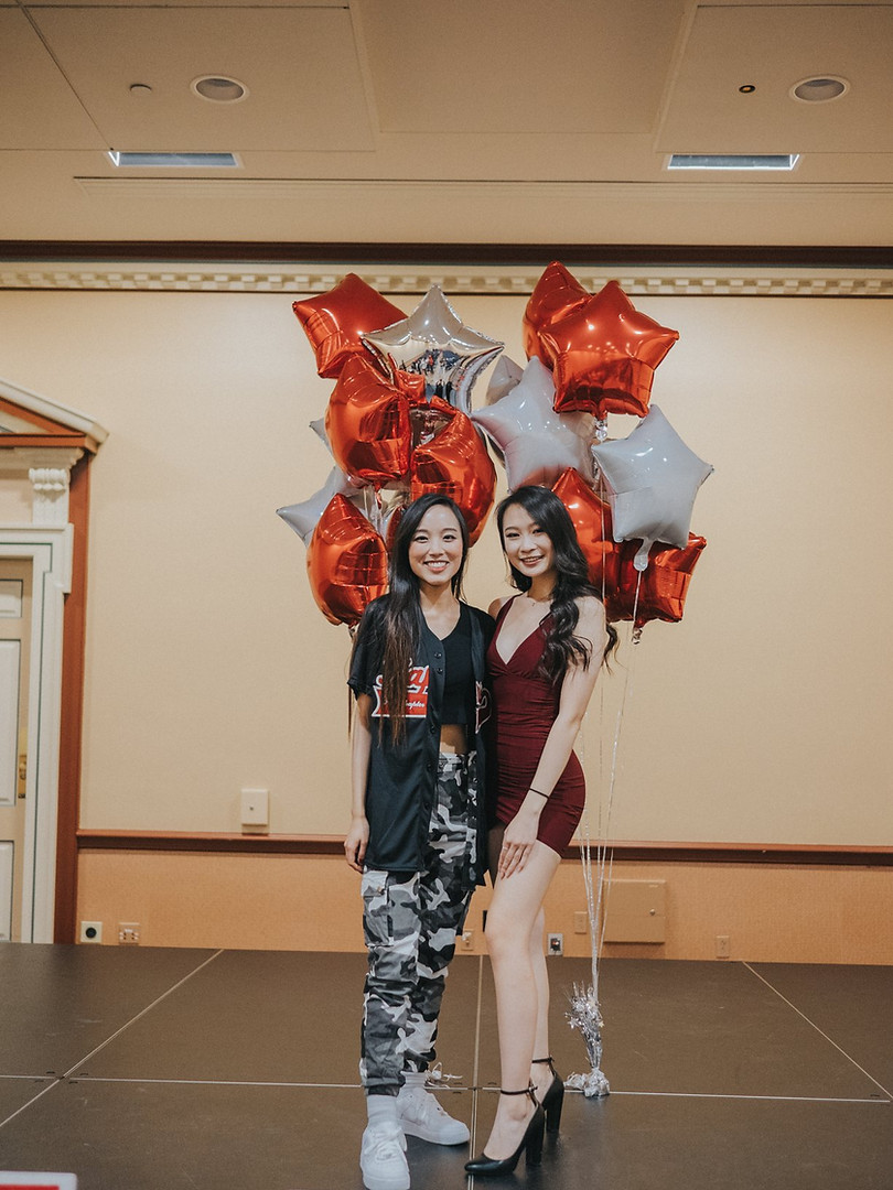 OMEGA CLASS REVEAL: Little Whitney Chuong and her big, Angela Wu