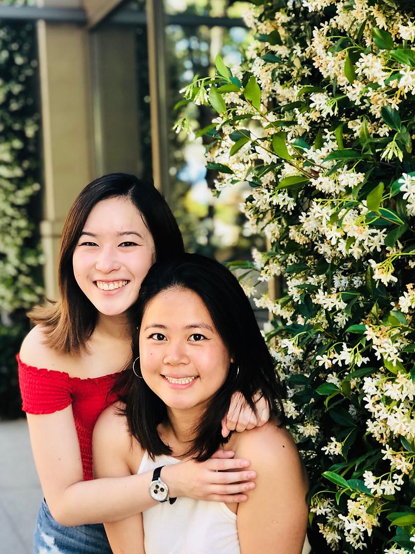 Stephanie Ouchida and Anastasia Wong