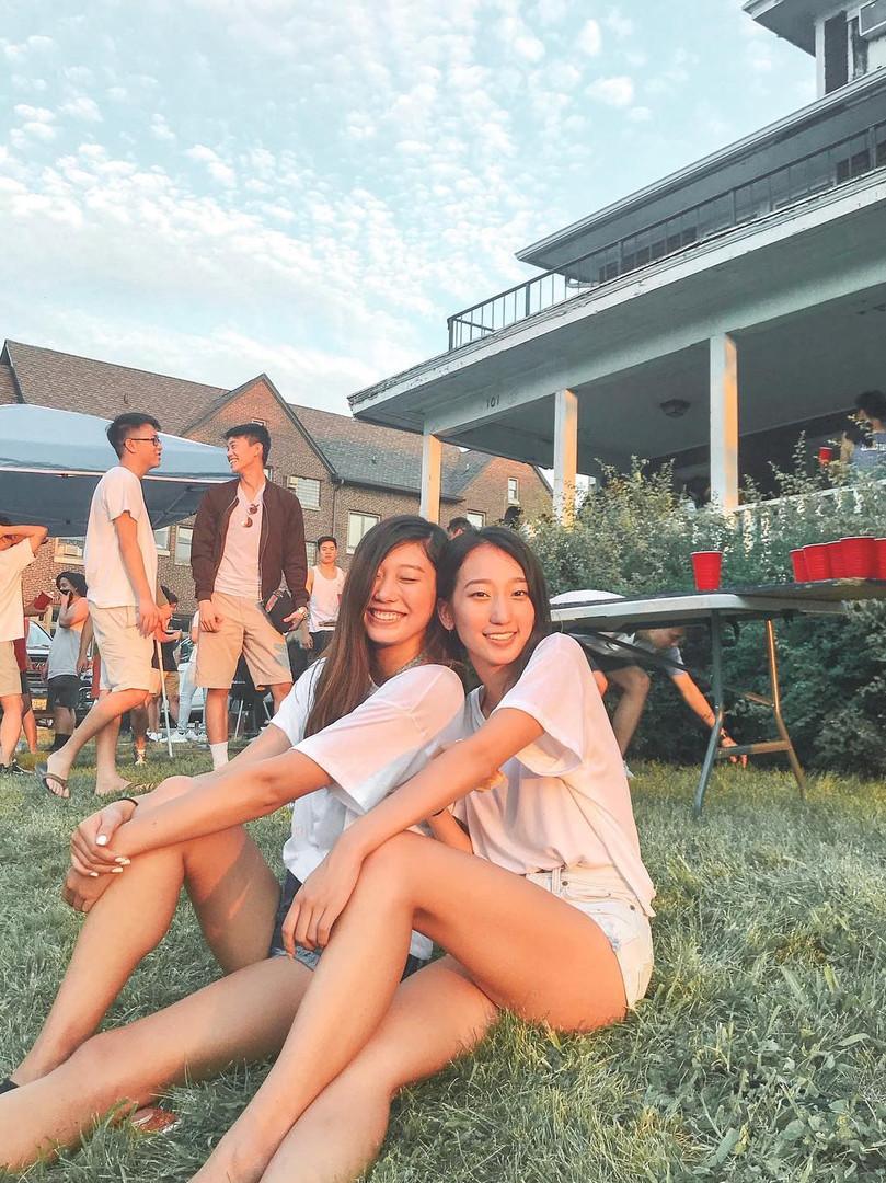 FALL 2018 RUSH EVENT: Alanna Wong and Sandy You