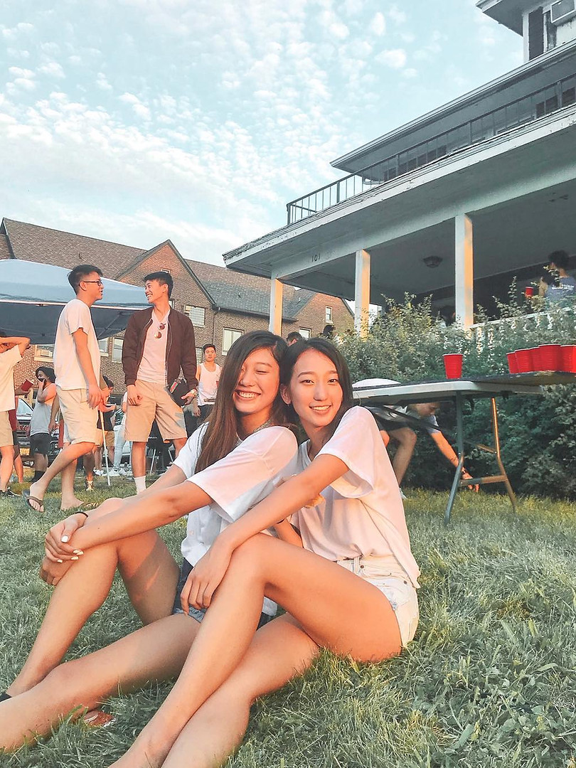FALL 2018 RUSH EVENT: Alanna Wong and Sandy You