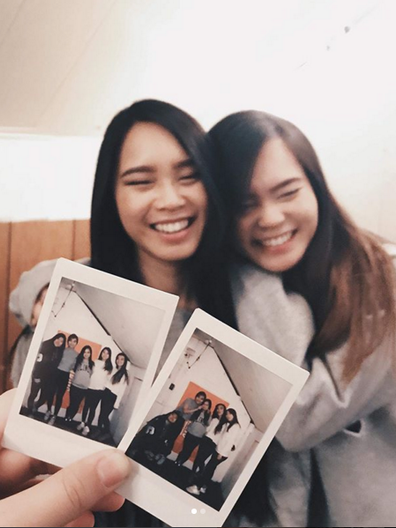SISTERS: Brittany Vu and Kaitlyn Vu