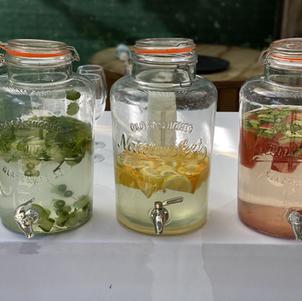 Beautiful soft drinks presentation