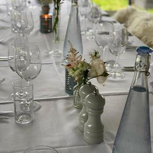 Elegant glassware