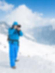 Patrick Rörig auf der Zugspitze