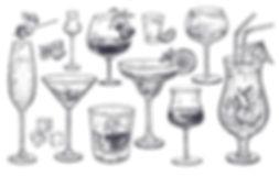alcoholic-drinks-set-glass-champagne-260