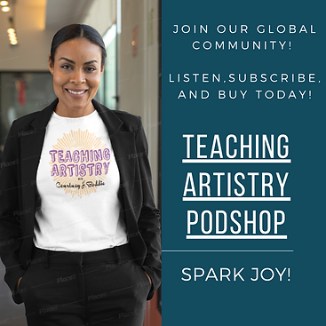 Teaching Artistry Podshop Instagram Post