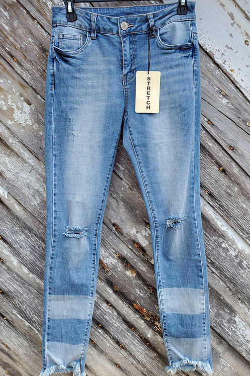 Litz Distressed Stretch Jean