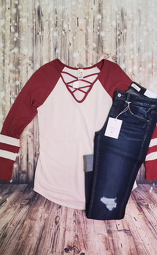 Brick Vintage Athletic Top
