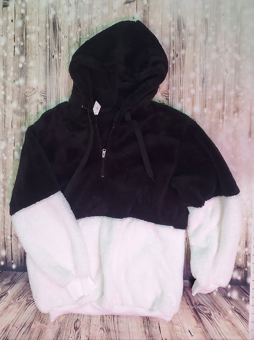 Black & White Super Soft Fleece