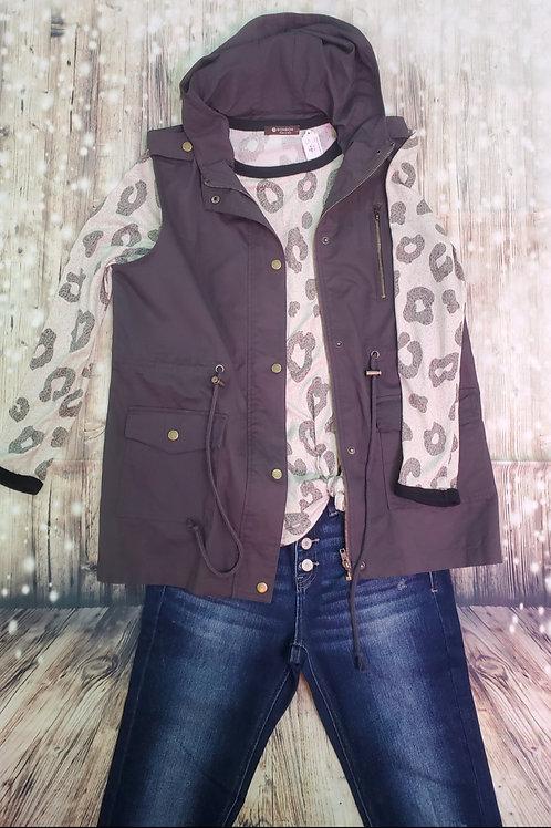 Ash Gray Vest
