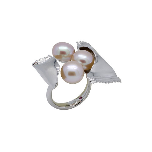 FRESHWATER PEARL RING BCSS62RIWG-PP
