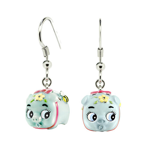 BLUETOOTH BABY PIGGY EARRINGS
