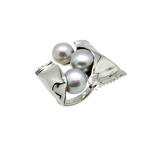 FRESHWATER PEARL RING BCSS62RIWG-GP