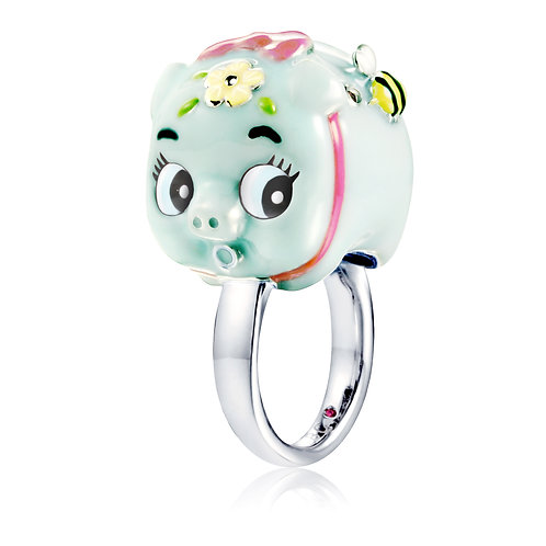 BLUETOOTH PIGGY BANK RING
