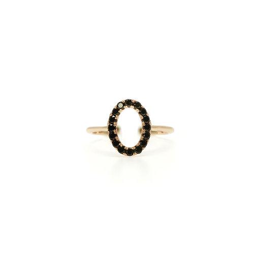 BLACK SPINEL RING BCMO47RIRG