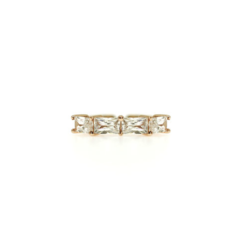 CUBIC ZIRCONIA SILVER RING BCMO40RIRG