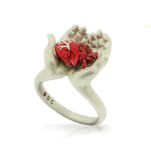 I GIVE YOU MY HEART RING