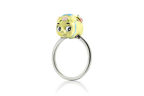 WASABI BABY PIGGY RING