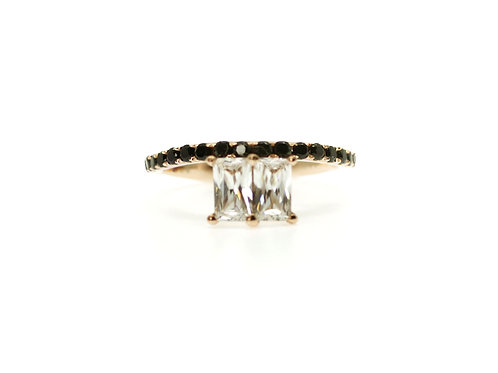ZIRCONIA BLACK SPINEL RING BCMO43RIRG