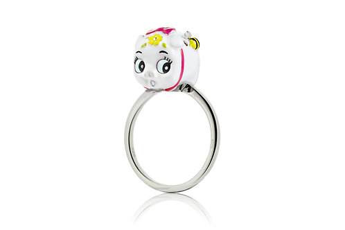 SNOWBALL BABY PIGGY RING